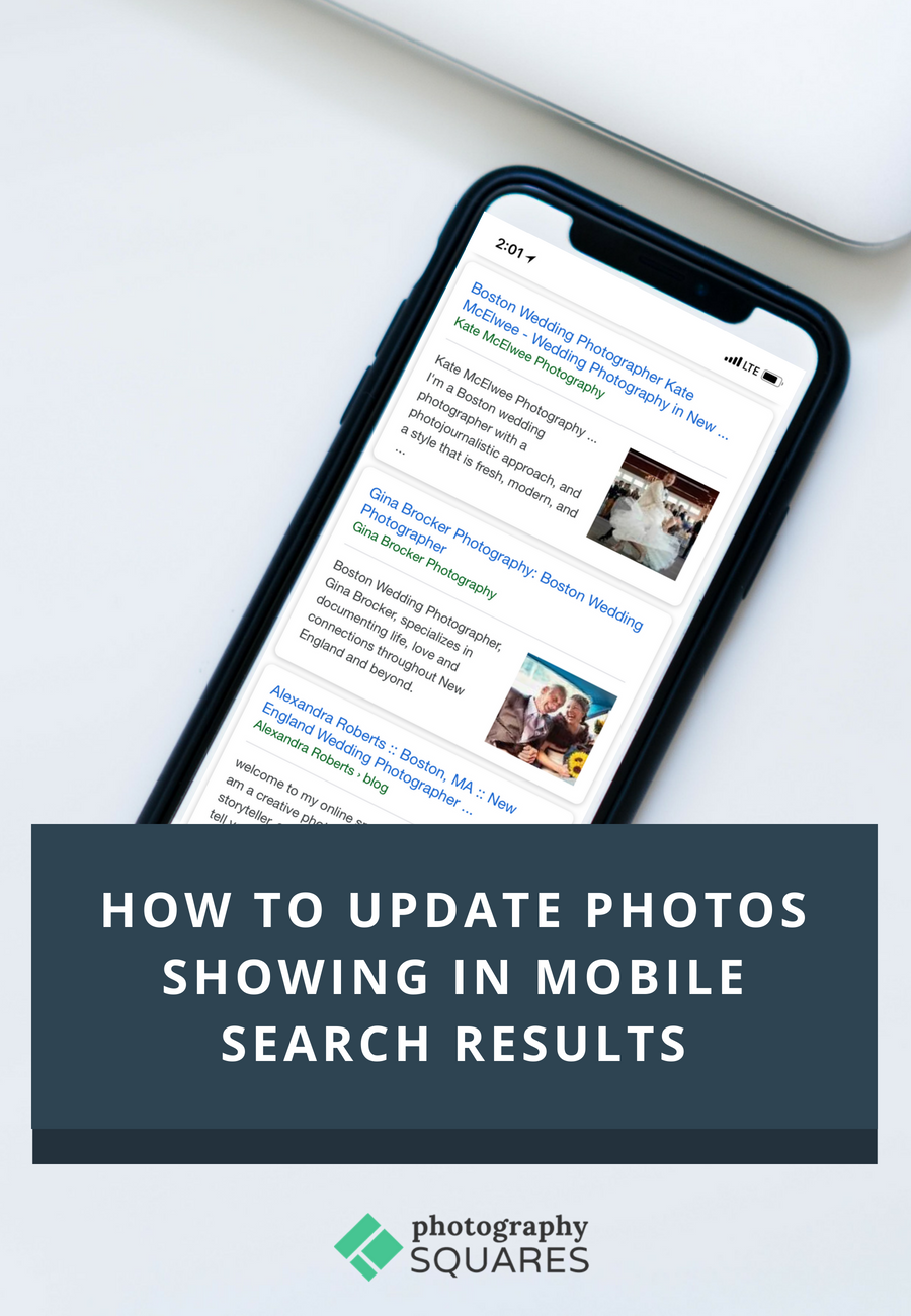 How to Update Mobile Search Photos in Search Results - SEO for Photographers