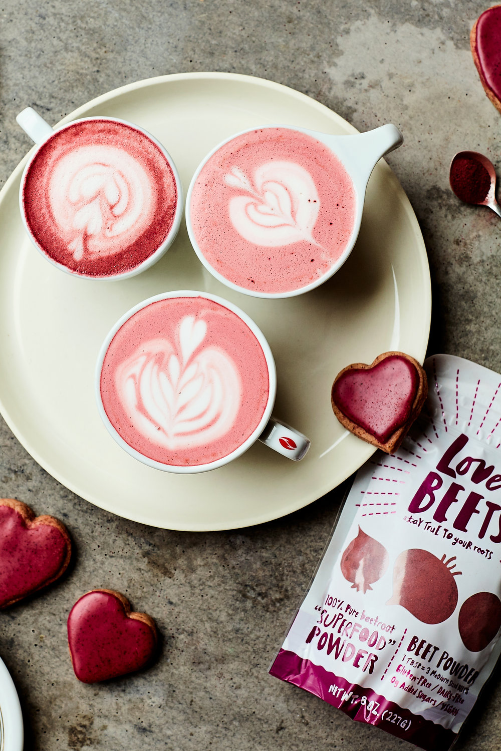 LOVE BEET LATTES