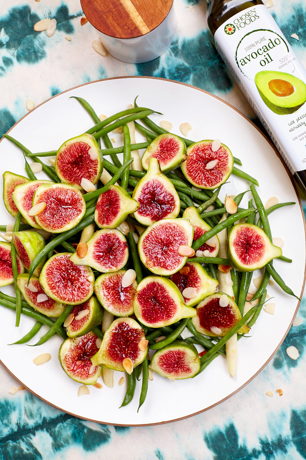 TIGER STRIPE FIG AND GREEN BEAN SALAD- I