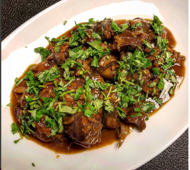 December 11, 2016 : Kimchi n Beef Stew