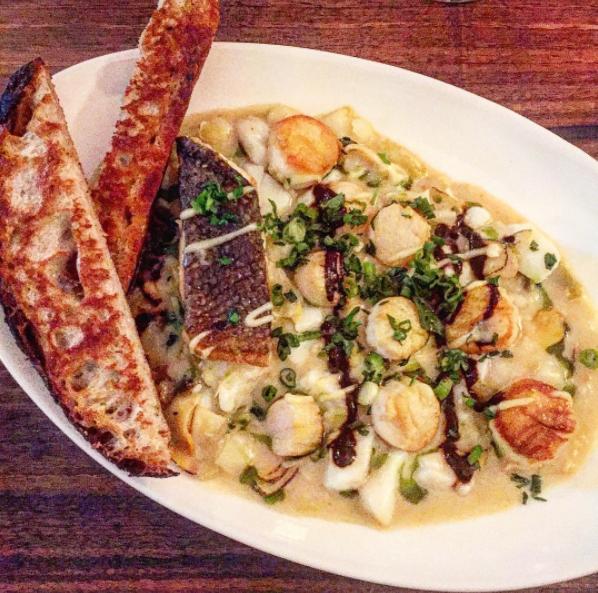 December 18, 2016 : Montauk Seafood Stew