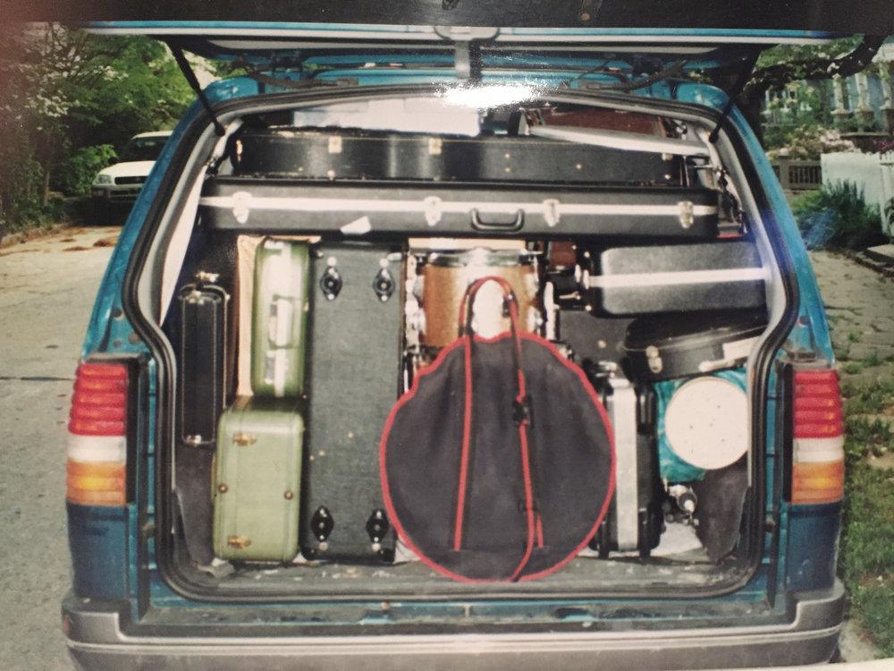 Packed Van, America, circa 2001