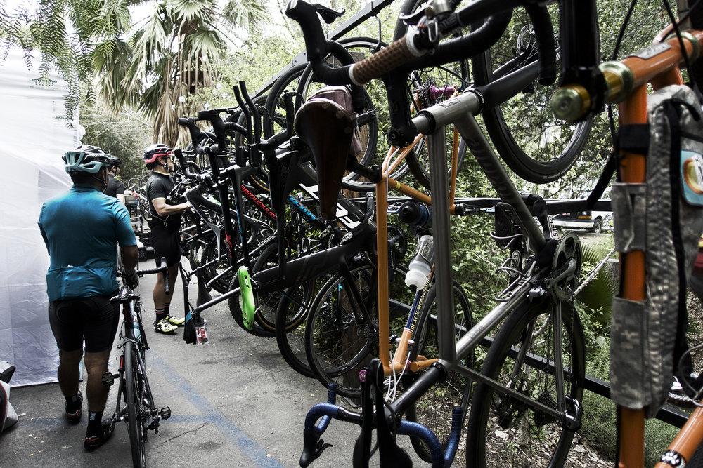 bike parking, Pedaler's Fork