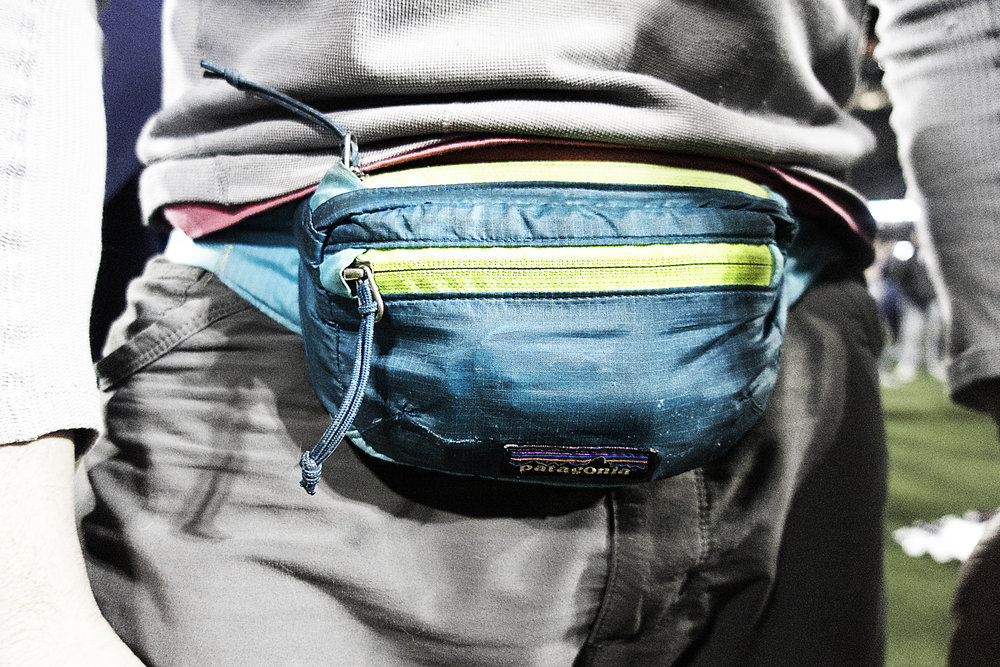 Tolsun's  notorious  fanny pack.