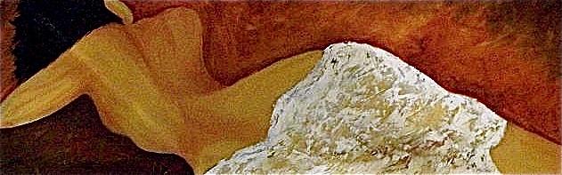 Creamy, Oil by Mariam Qureshi