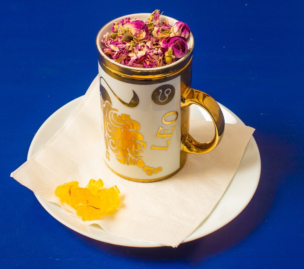 Our Rose flower herbal tea is one of our most popular teas serving at Lotus!
