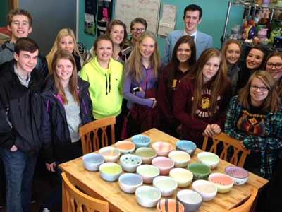 Empty Bowl Paint Party