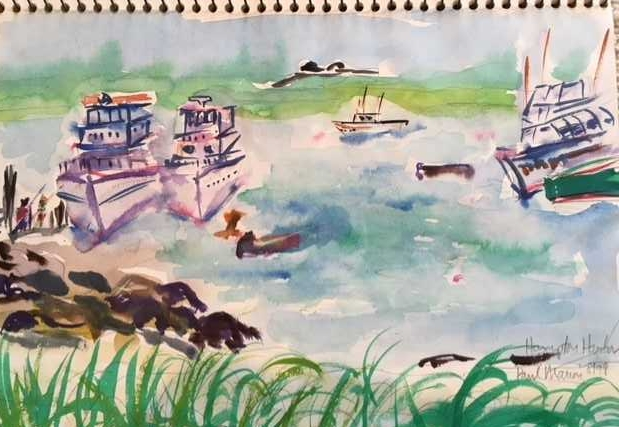 Hampton Beach, N.H., harbor, 1999