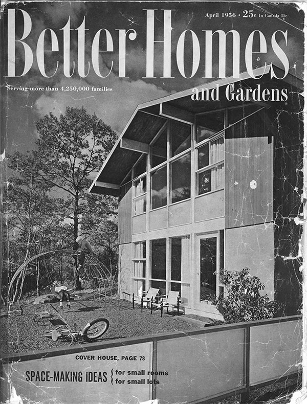 Techbuilt Homes featured in 1956  Better Homes and Gardens