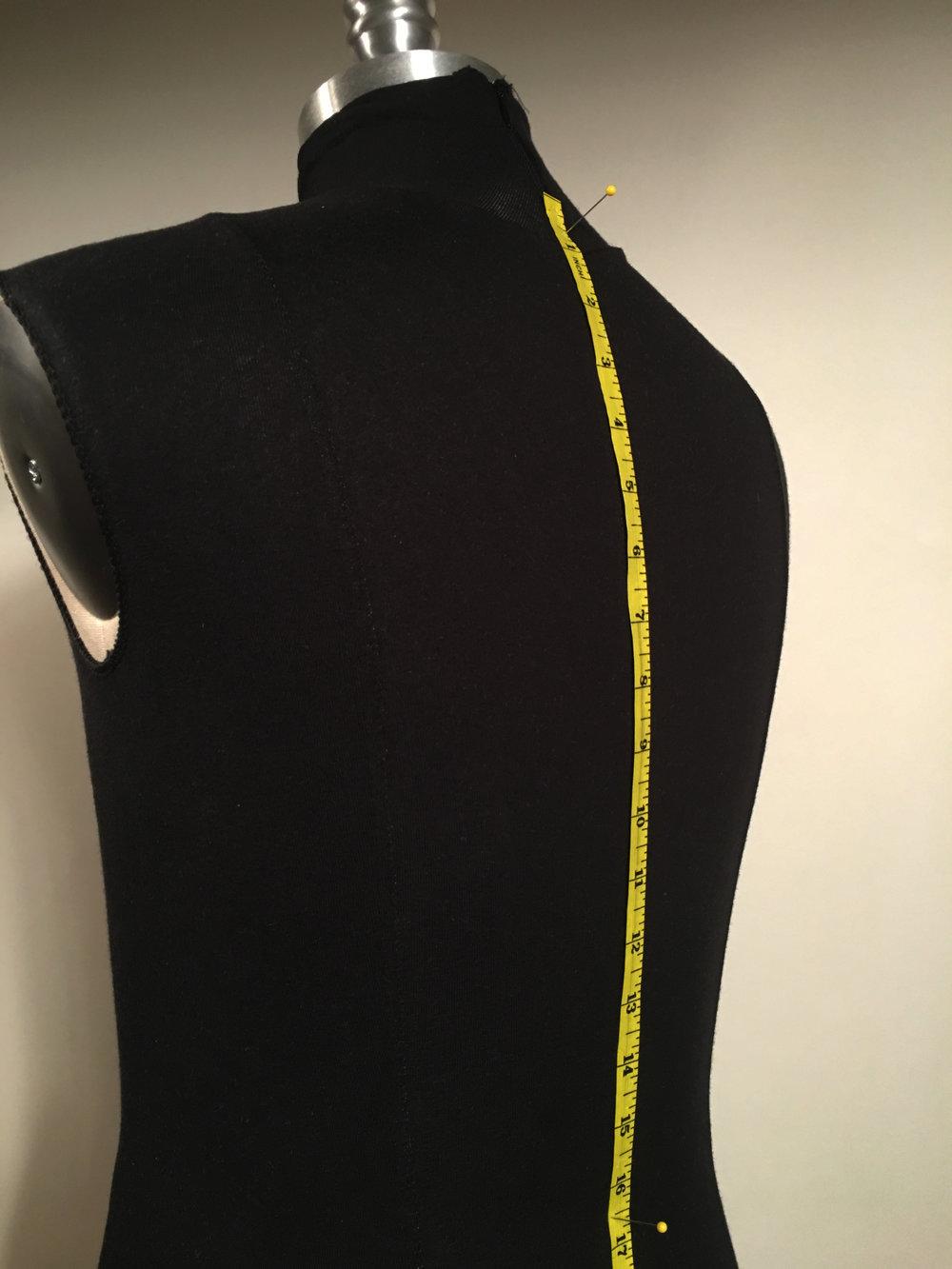 Vertical Back Waist