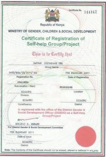 Certificate #144942
