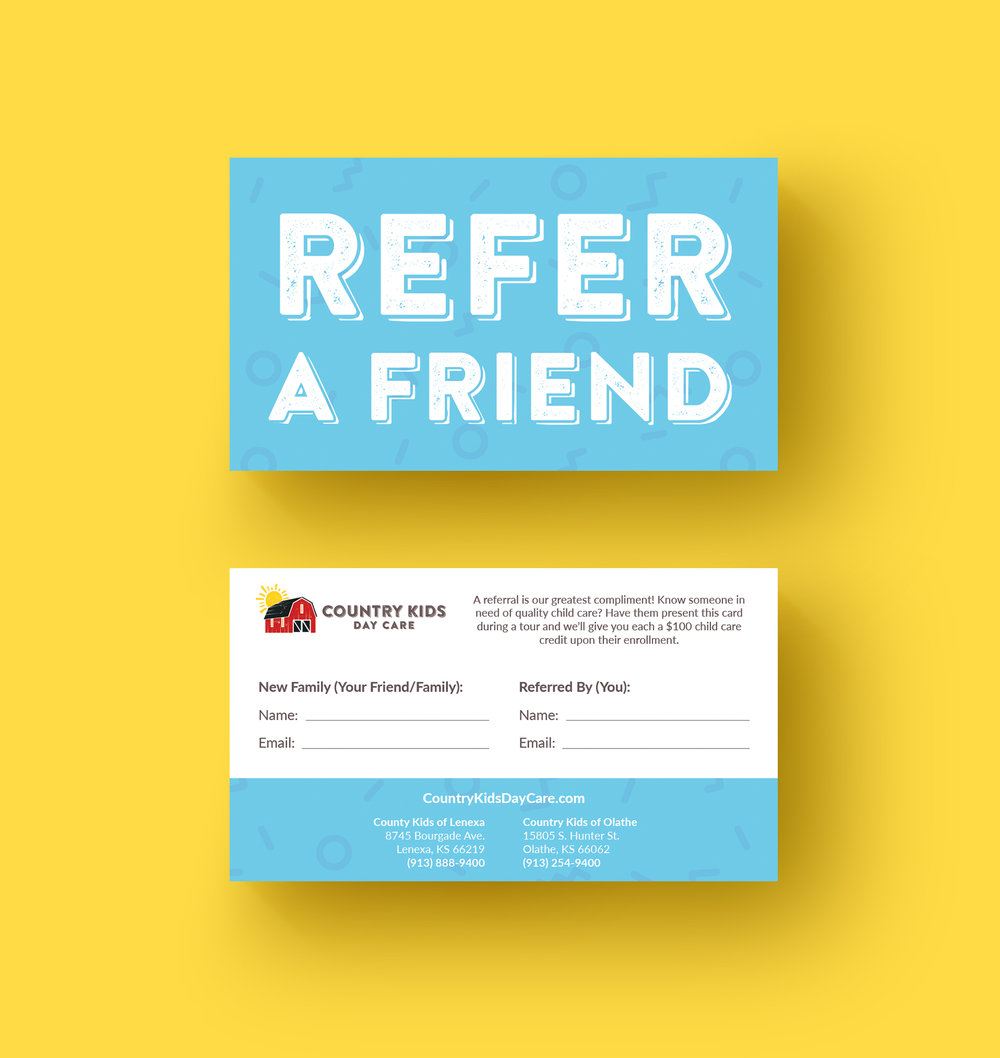 Copy of Referral Card Design