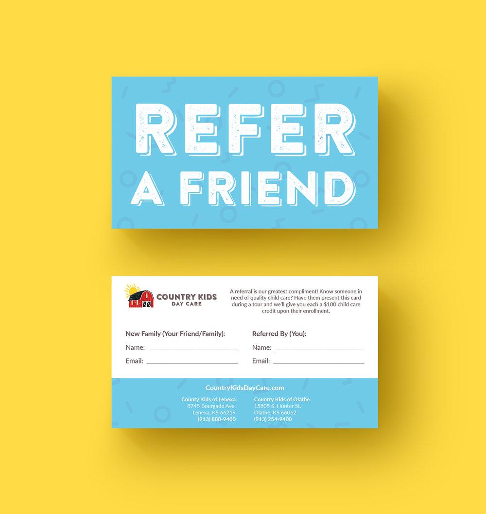 Referral Card Design