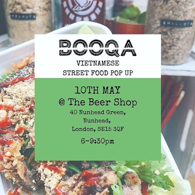 We'll be popping up at the Beer Shop in Nunhead on Friday evening! Come by and have some amazing craft beer and food ☺️