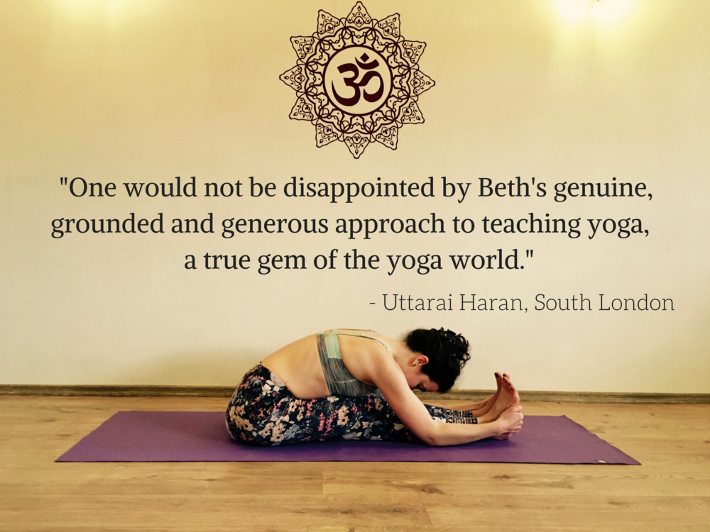 One would not be disappointed by Beth's genuine, grounded and generous approach to teaching yoga, a true gem of the yoga world..png