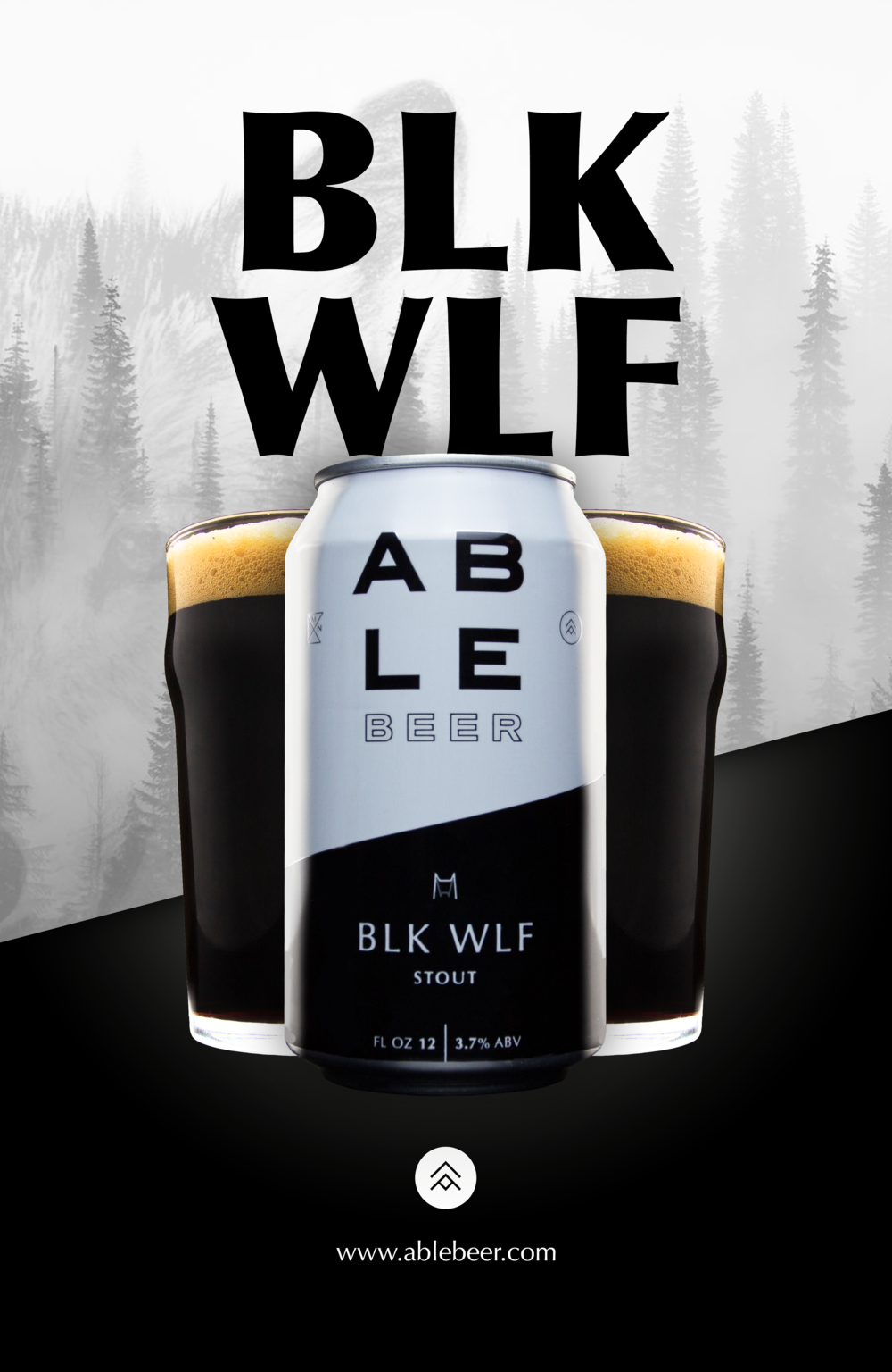 An ad concept I did for Able Beer. They did not hire me for this. I did the photography and the graphic design.