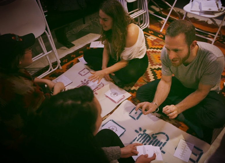 THE DREAM EXCHANGE is a game that asks participants to openly explore their aspirations through an empowering and transformational process. This game is designed to support bonding within teams and communities in a range of settings.