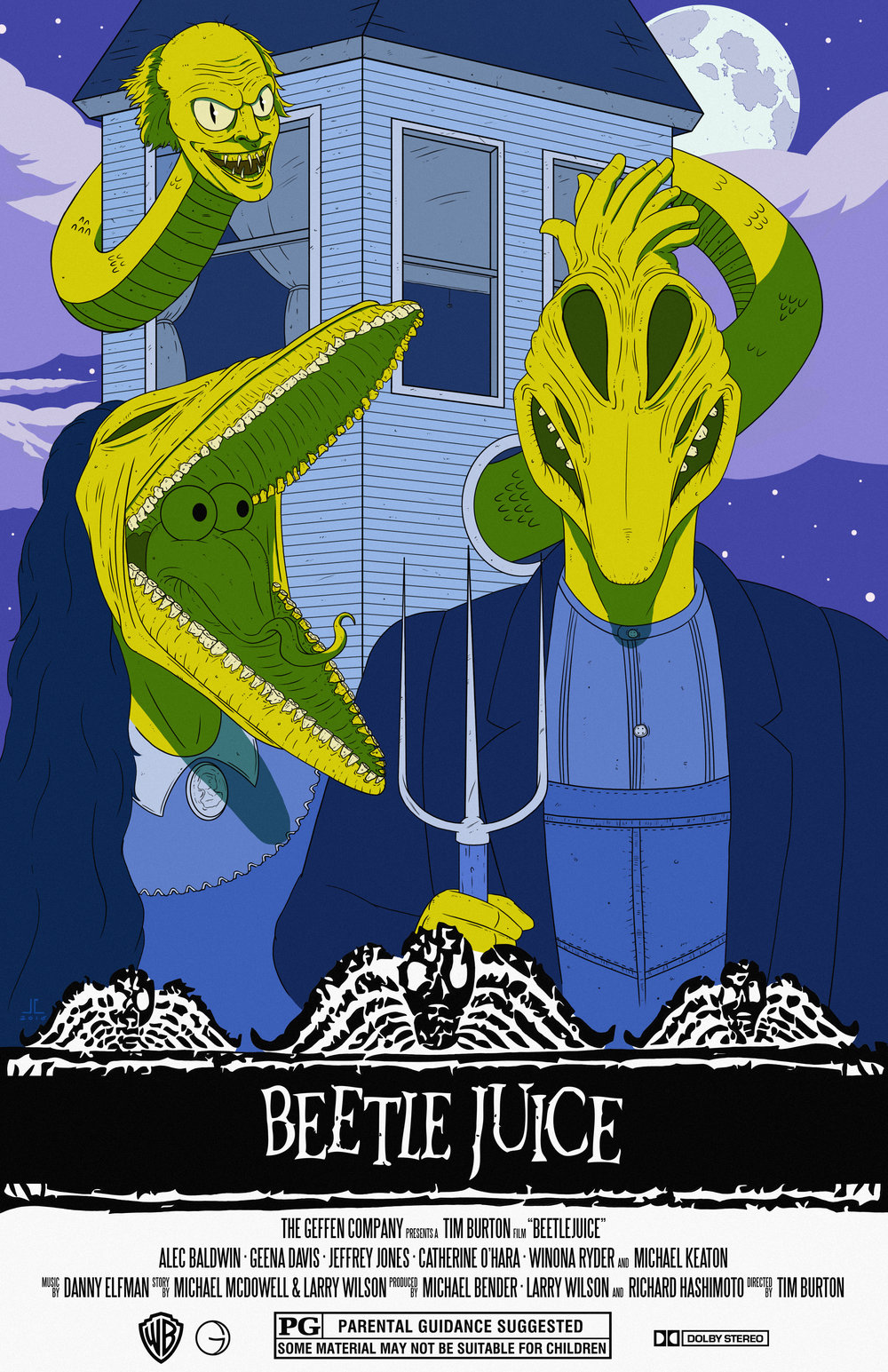 Beetlejuice Movie Poster
