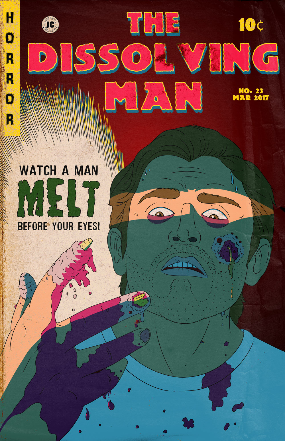 The Dissolving Man Movie Poster