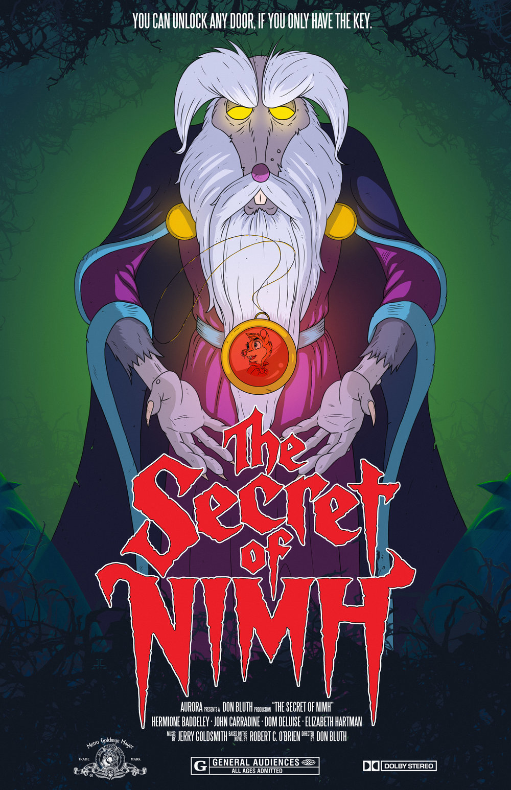 Secret of NIMH Movie Poster