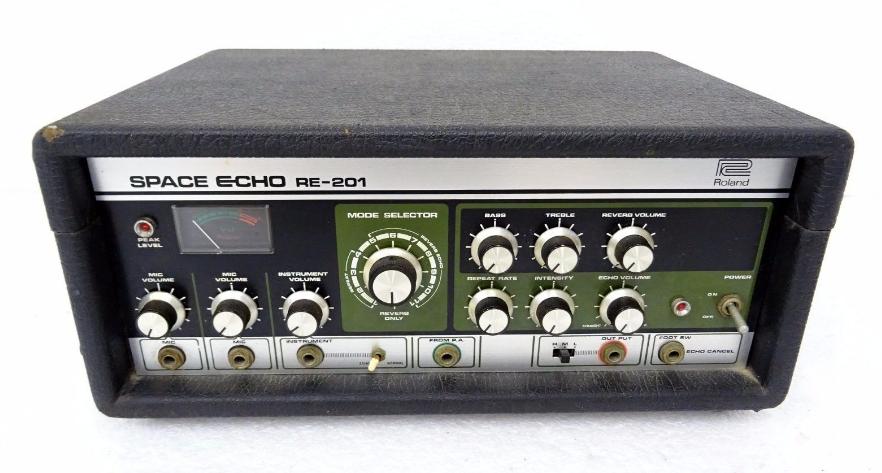 roland re-201 space echo tape delay vst