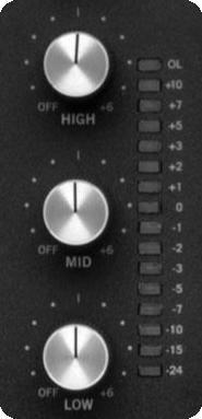 DJ mixer EQ
