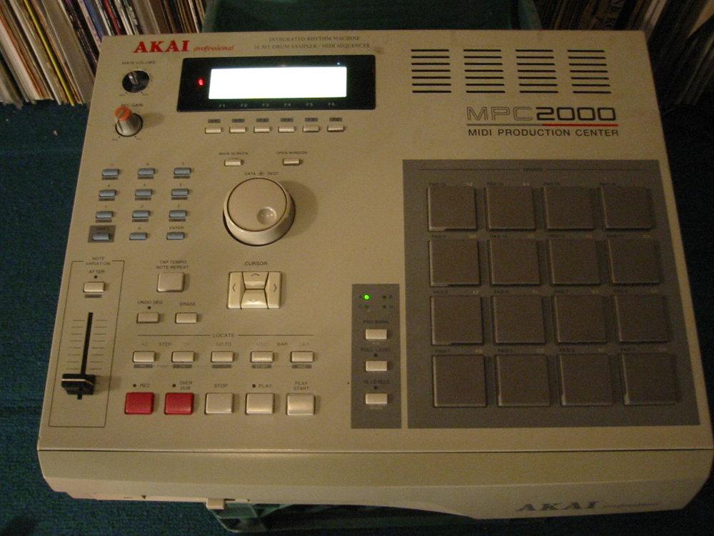 my MPC2000, the original