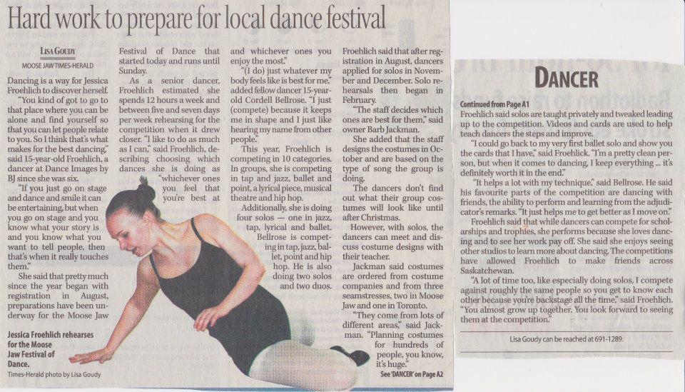 Prepare for Local Dance Festival