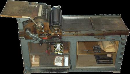An Asbern press.