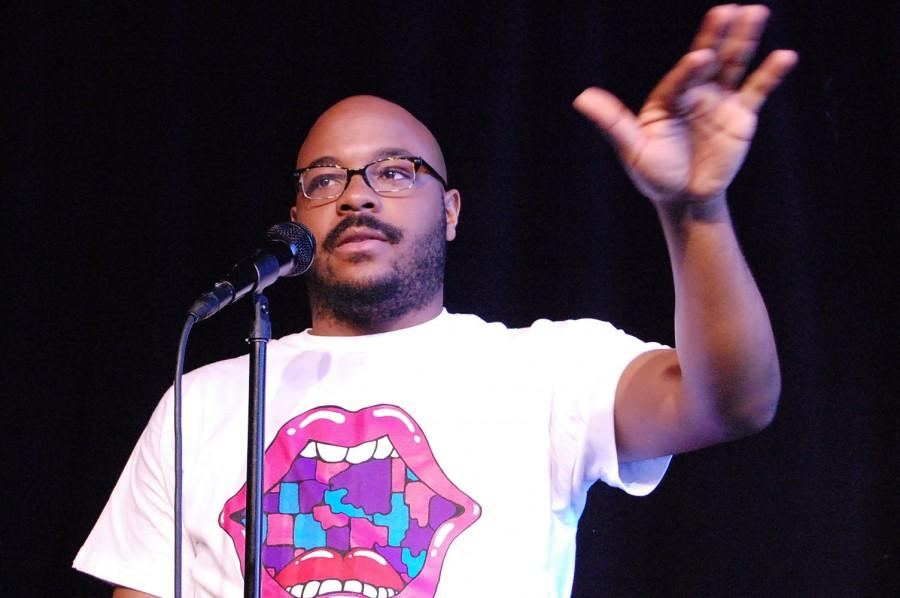 NATE MARSHALL  is a multi-talented literary artist and activist committed to affecting lives through poetry. He uses the art of poetry, hip-hop, and performance to inspire and spark conversations exploring identity, class, political engagement, and personal narrative