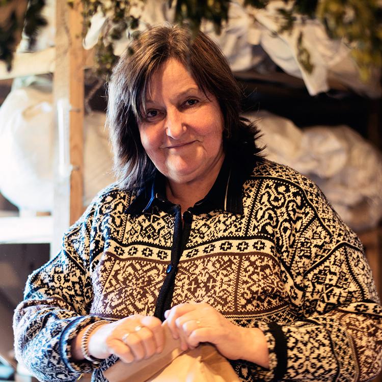 Brigita Lukina, founder of Lauku Tea