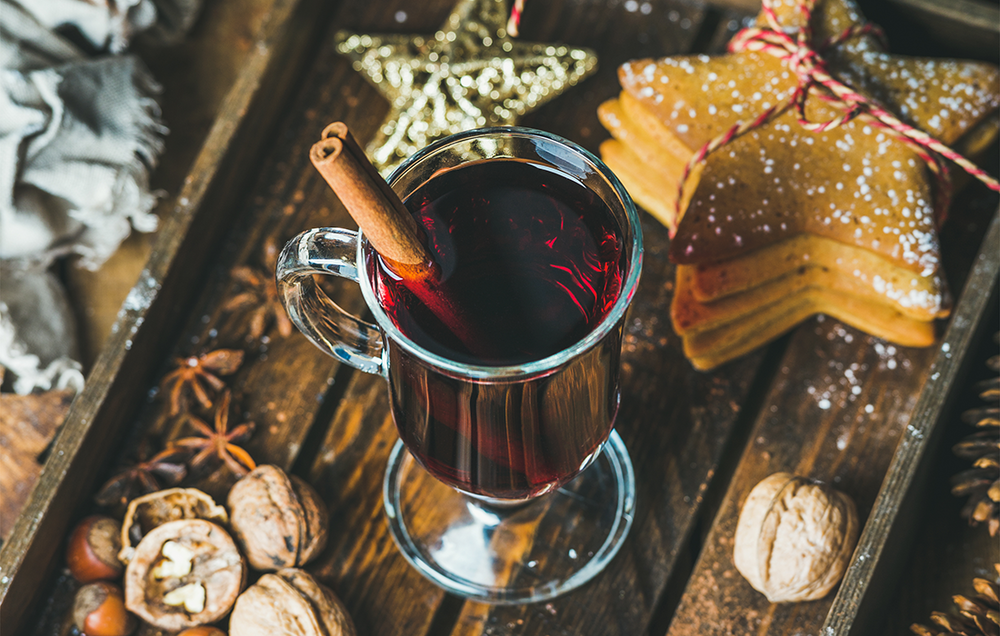 Lauku Tea // Recipe for Lauku Tea-Infused Mulled Wine
