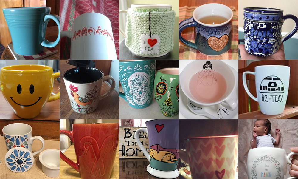"A few of our favorites from our ""Share Your Mug"" Facebook promotion."