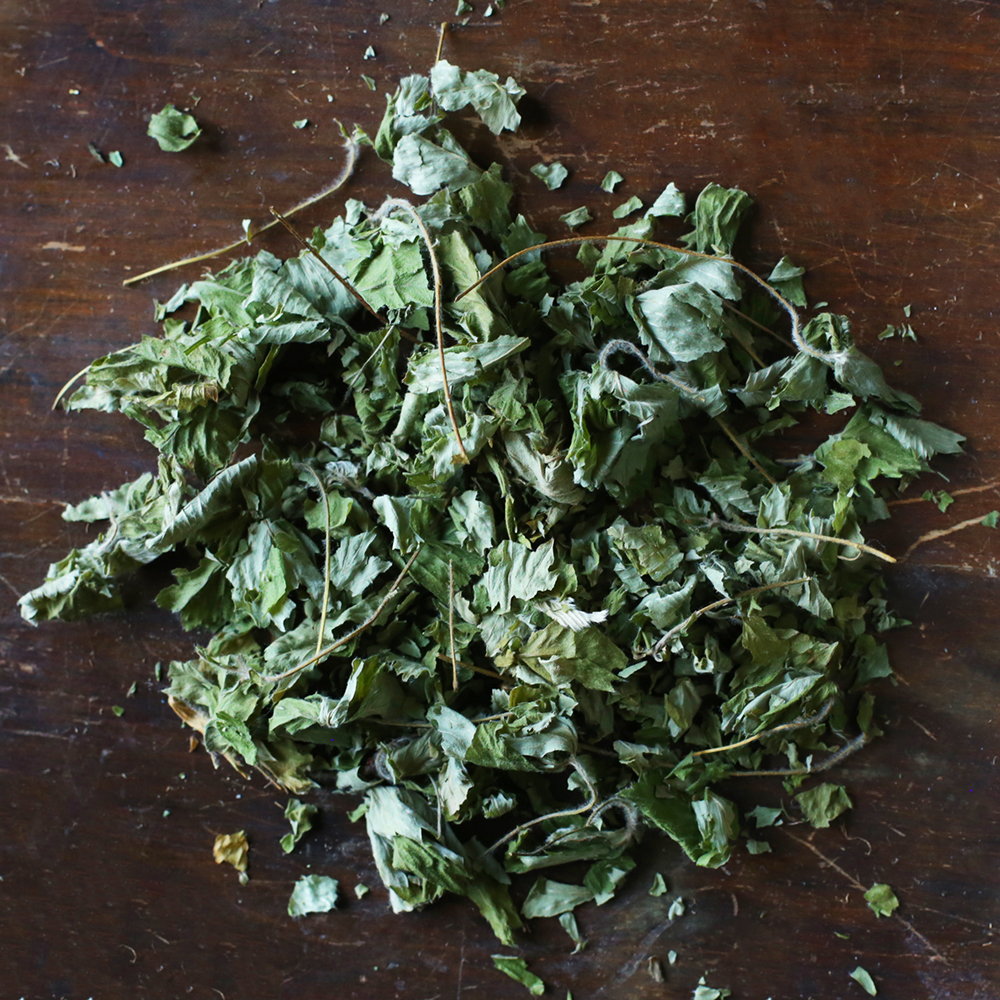 Forest Raspberry Leaves   a full herbal flavor with a soft tartness
