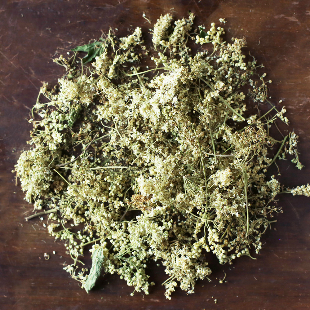 Meadowsweet   sweet almond aroma with a soft wintergreen flavor