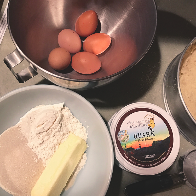 Lauku Tea Blog // German Sunshine Cheesecake