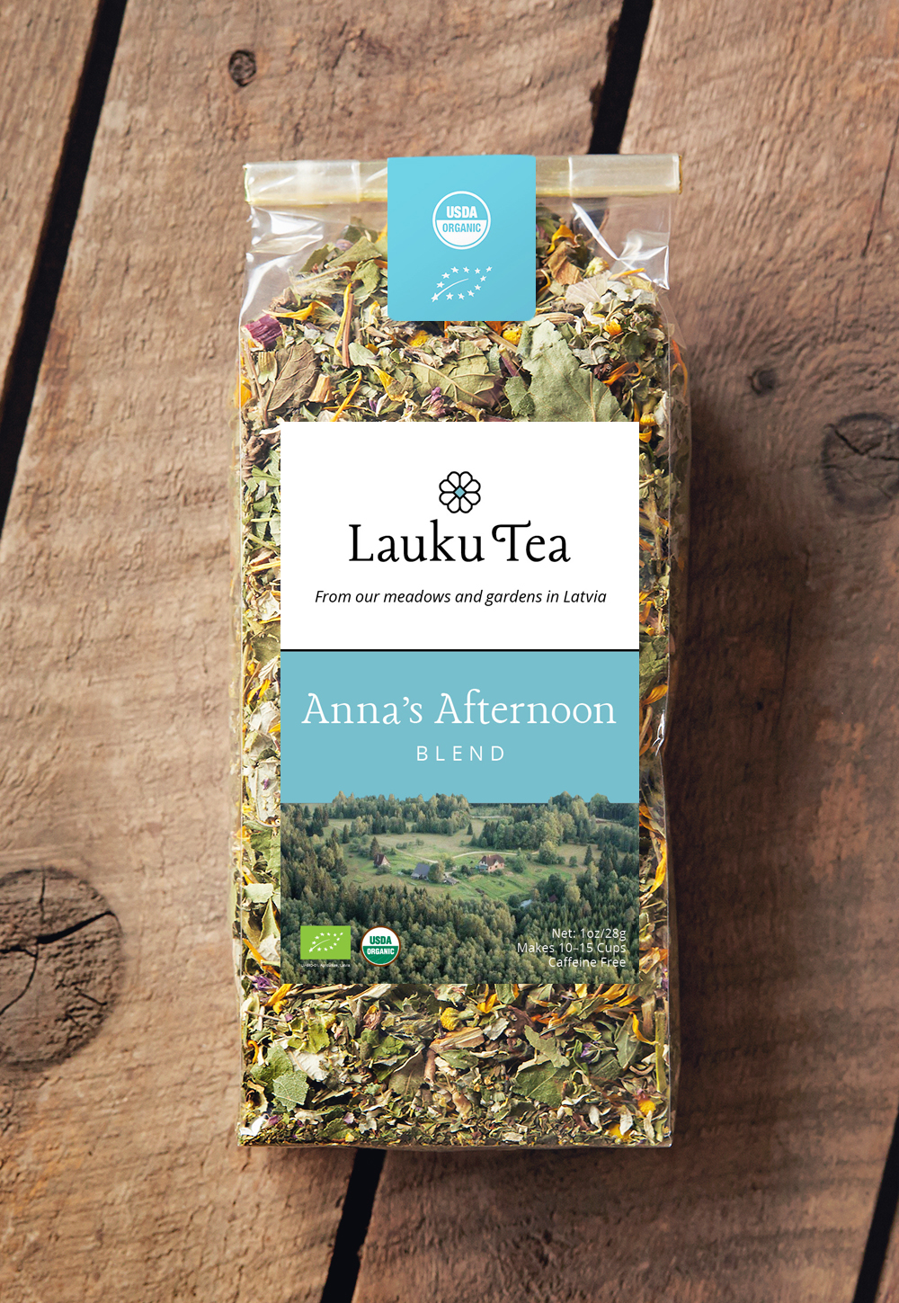 Lauku Tea // Anna's Afternoon Blend, complex and uplifting