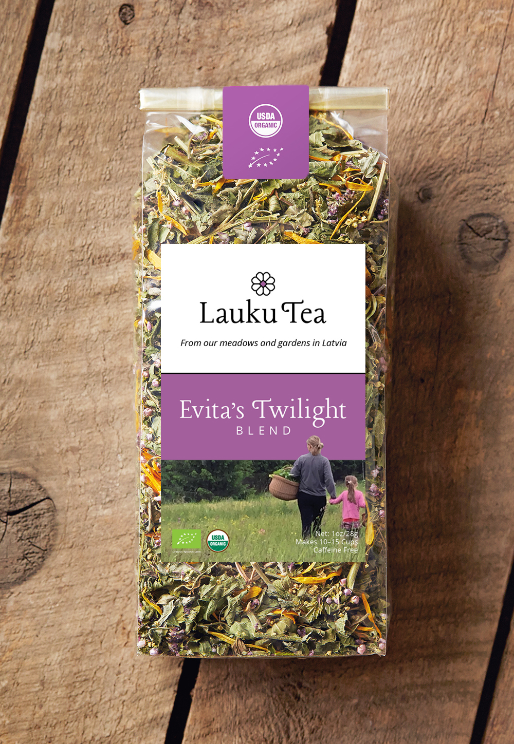 Lauku Tea // Evita's Twilight Blend, elegant and calming