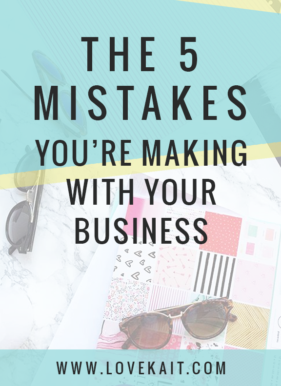 mistakes in business retail boutique sales