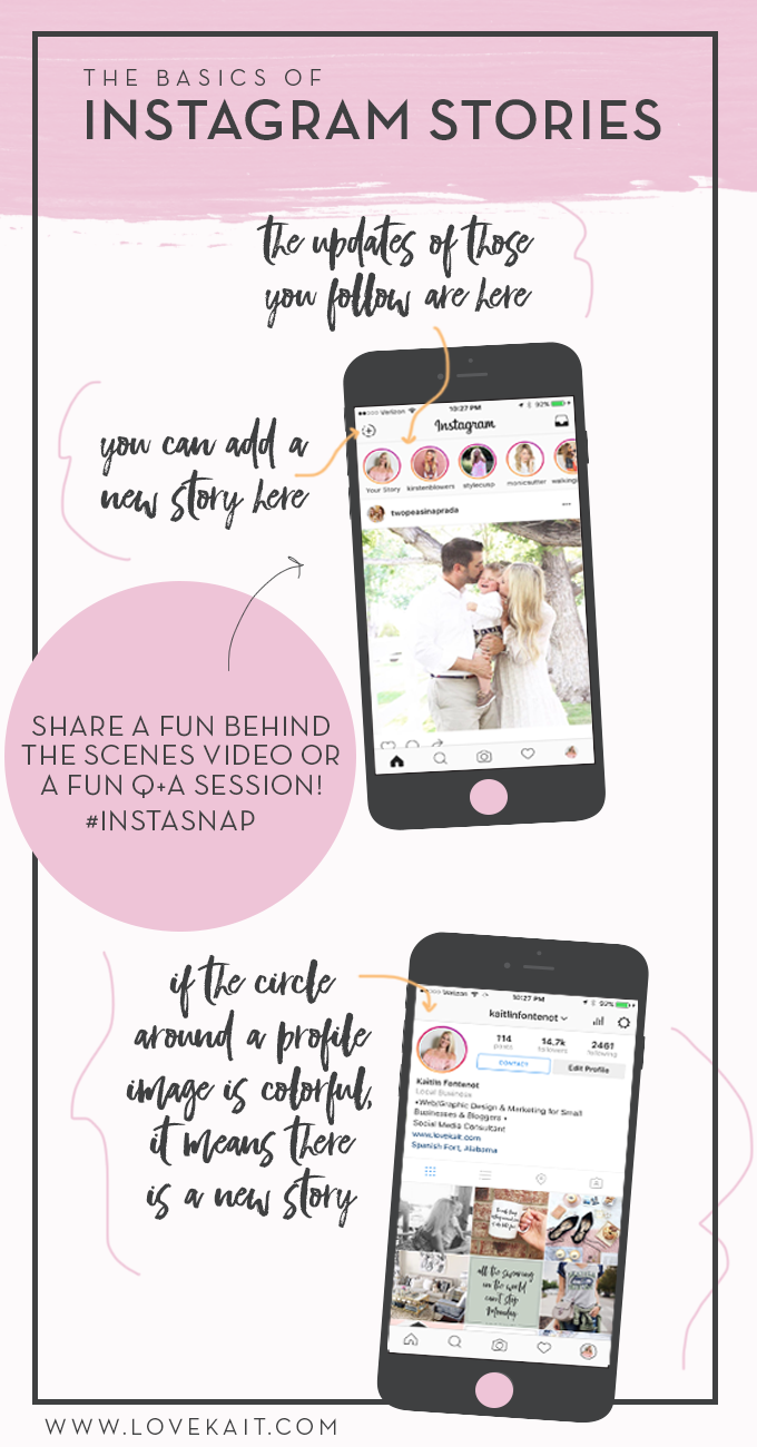 The Basics of Instagram Stories: What it is and why YOU should be using it! #Instagram #Business #Blogging
