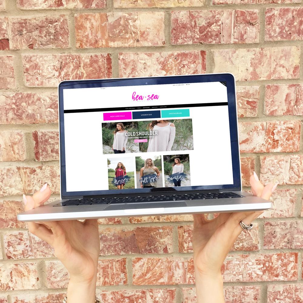 Boutique Branding + Web Design