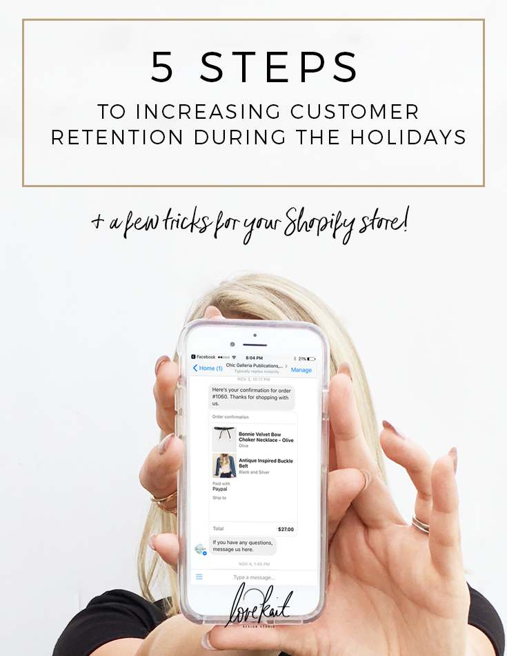 5 STEPS TO INCREASING CUSTOMER RETENTION