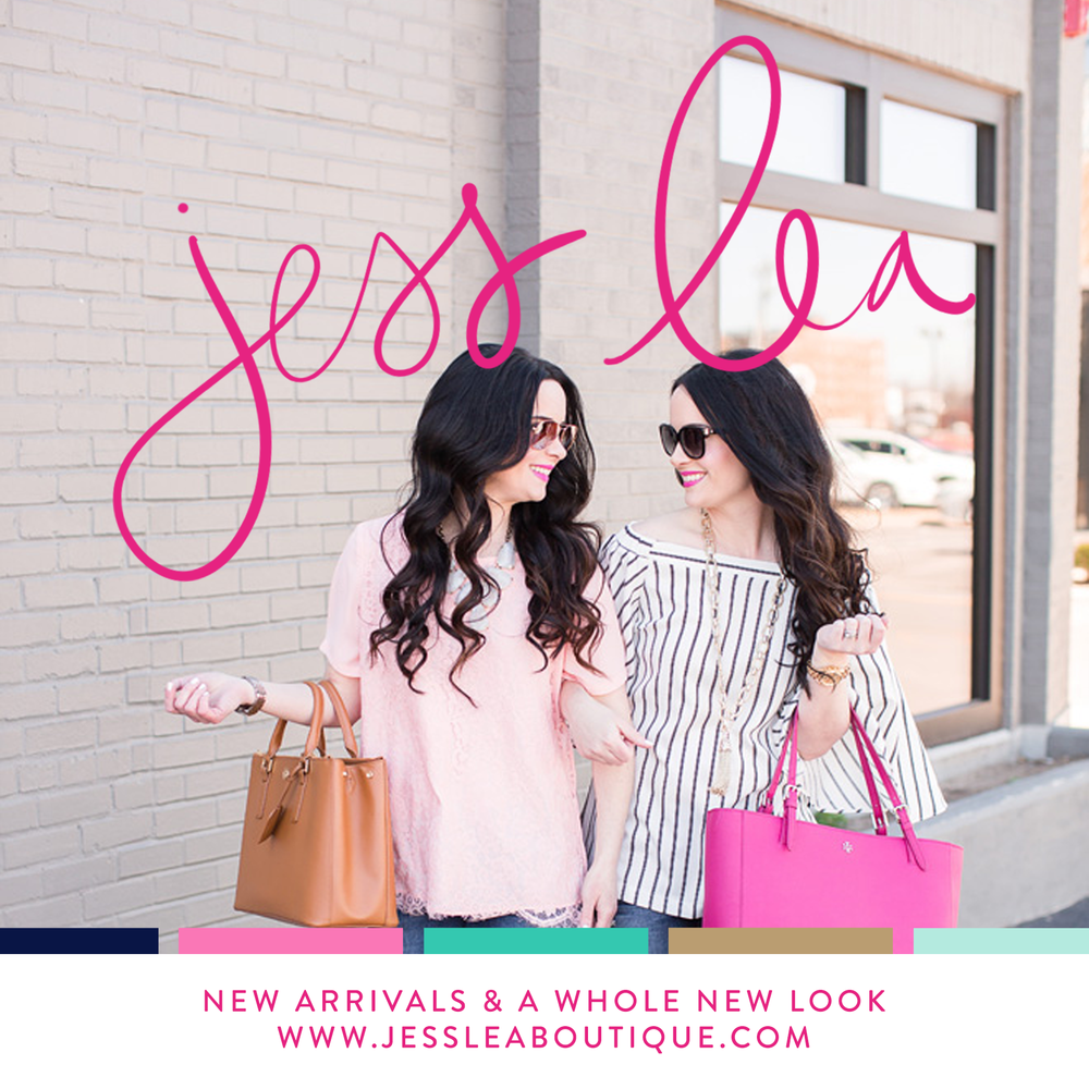 Boutique Branding Shopify | Jess Lea Boutique