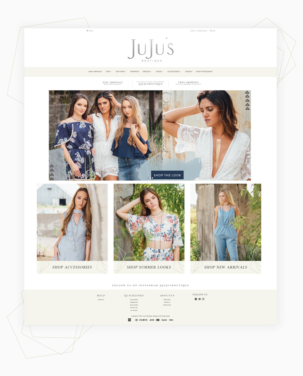 Shopify Web design for Boutiques.jpg