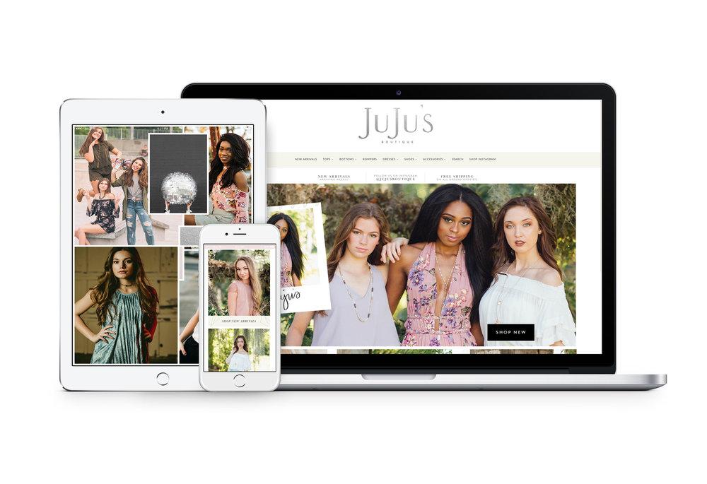 Shopify Web design for Boutiques