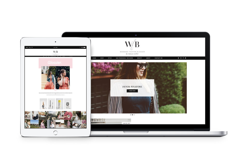 Wordpress Web design for Bloggers