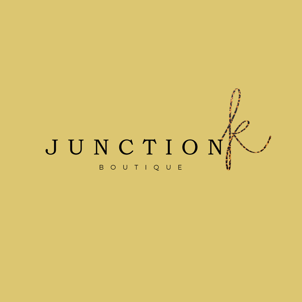 Junction K Boutique Branding Logo Design Shopify