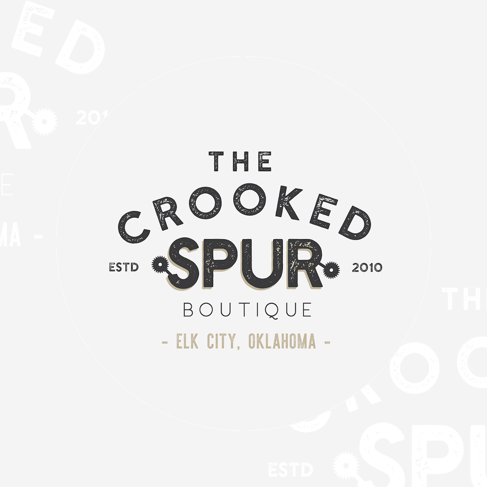 boutique rustic branding and logo design