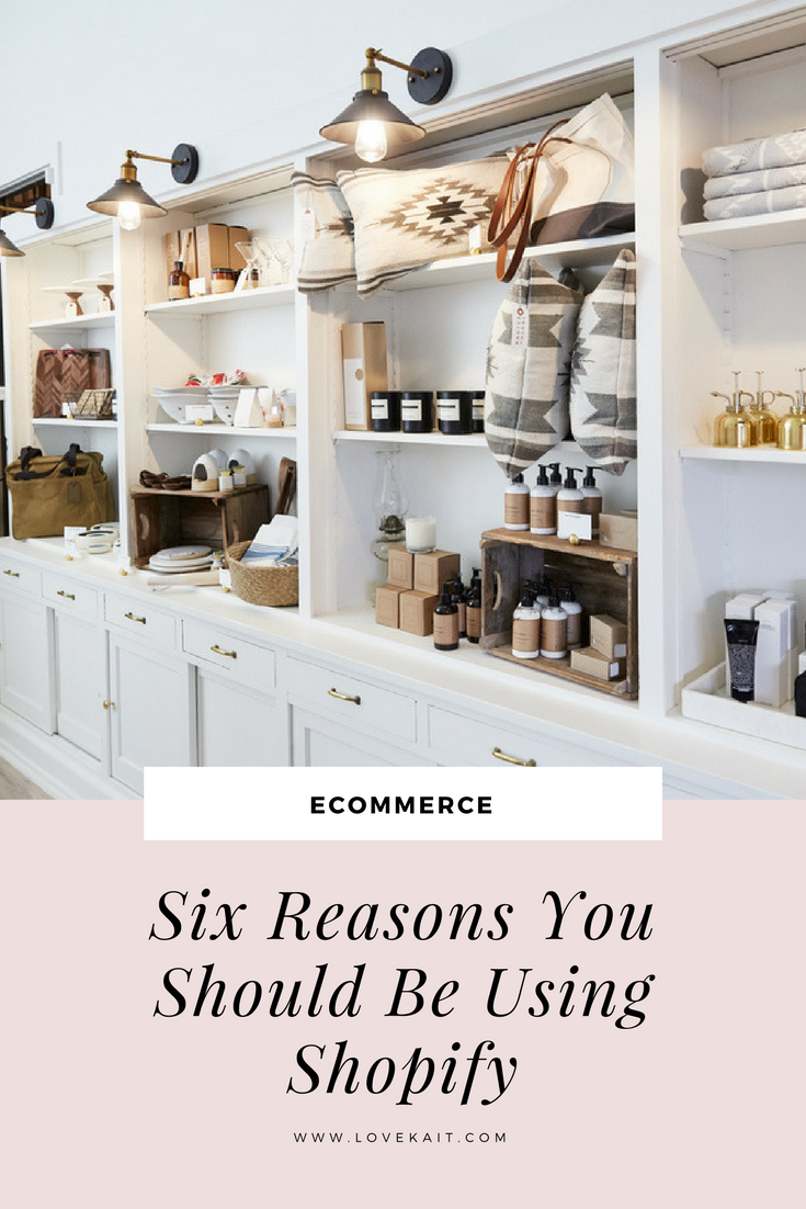 Why you should be using Shopify for your online store | #homedecor #businesstips #onlinestore #boutique #retail #shopify