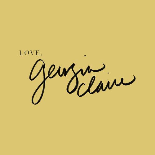 LOVE, GEORGIA CLAIRE  BRANDING & LOGO DESIGN